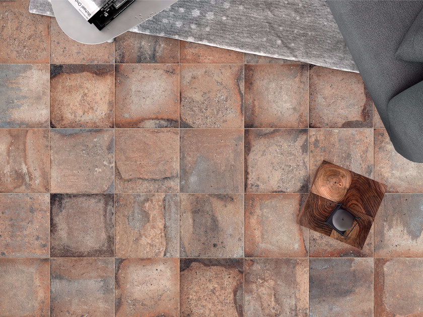 Porcelain stoneware wall/floor tiles with terracotta effect CONTEXT AMBER - ASTOR CERAMICHE