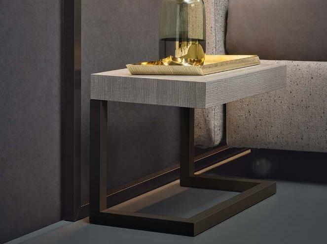 Rectangular bedside table CONTINUUM | Bedside table - Natevo