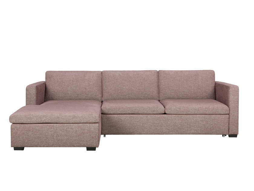 Convertible 3 seater fabric sofa with chaise longue VARIO | Convertible sofa - SITS