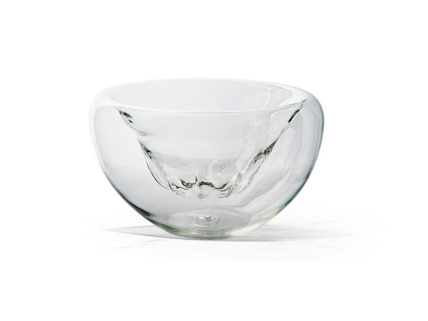 Borosilicate glass centerpiece COPPERY MEMORY - Atipico