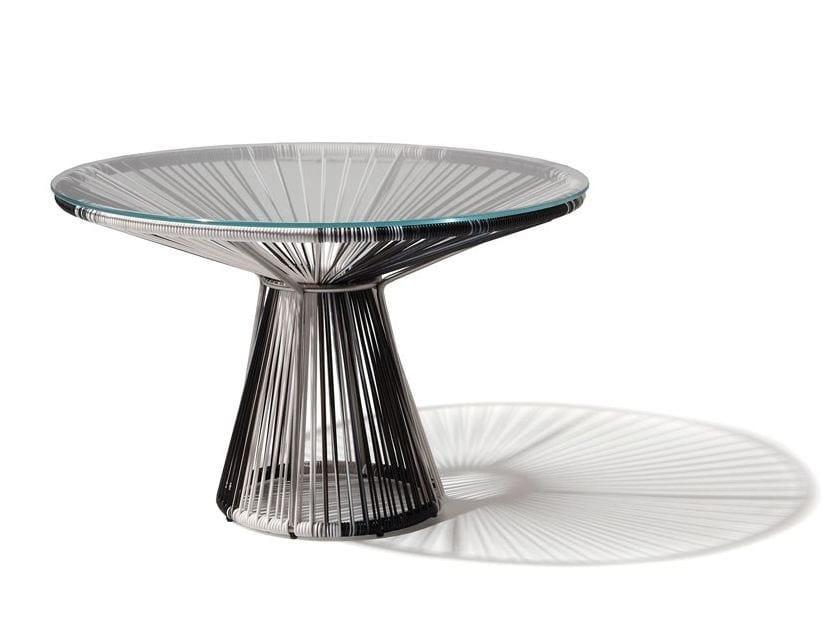 Round PVC coffee table CORDULA | PVC coffee table by MissoniHome