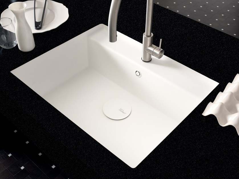 Lavello a una vasca filo top in Corian® Corian® TASTY - DuPont de Nemours Italiana - DuPont ProtectionSolutions