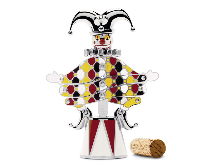 Stainless steel corkscrew THE JESTER by ALESSI