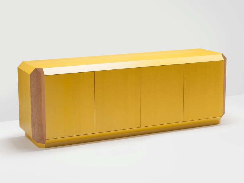 Lacquered sideboard with doors CORNER | Lacquered sideboard - H Furniture