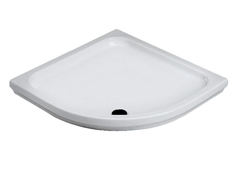 Corner ceramic shower tray COMINO | Corner shower tray - Olympia Ceramica