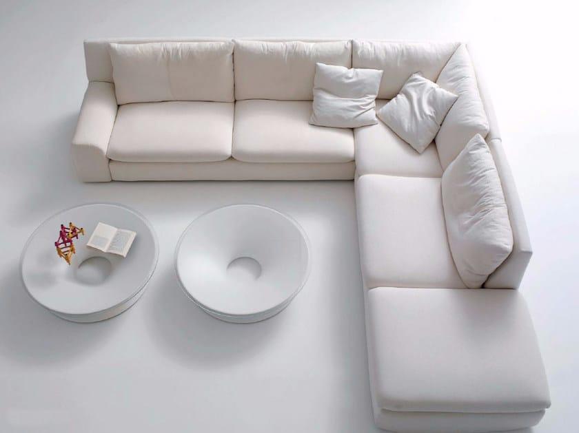 5 seater corner sectional fabric sofa BEN BEN   Corner sofa by arflex