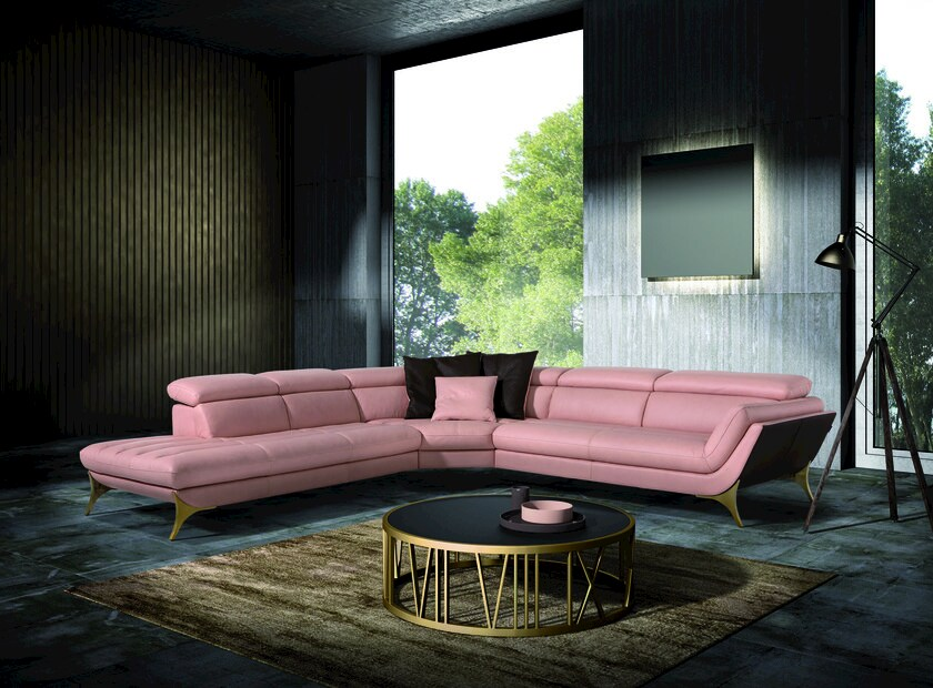 Corner sectional sofa SUELI | Corner sofa by Egoitaliano