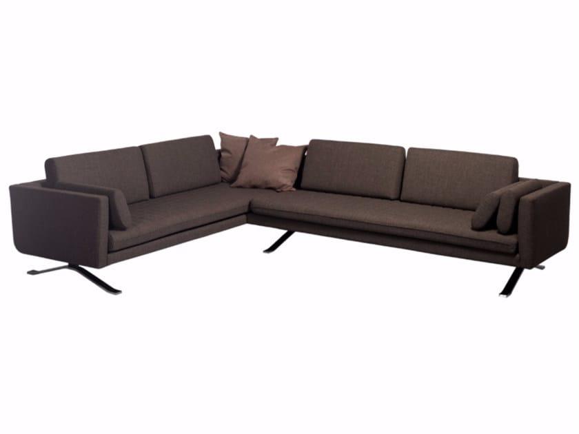 Corner fabric sofa KYLIAN | Corner sofa by Palau