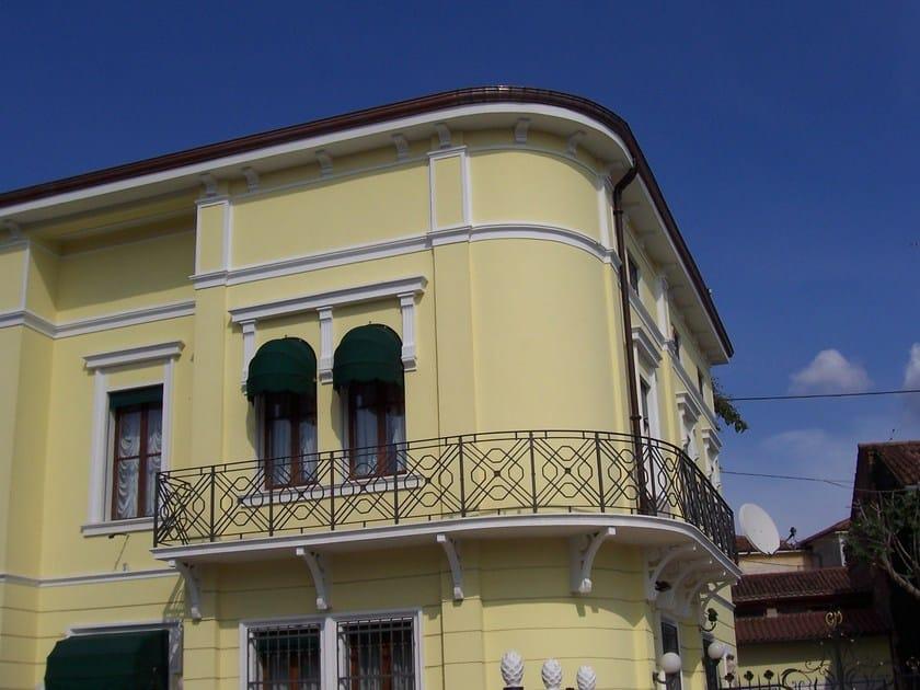 Decori per esterni facciate pittura decorativa per facciata indoor per esterni veldecor with - Decori per finestre esterne ...