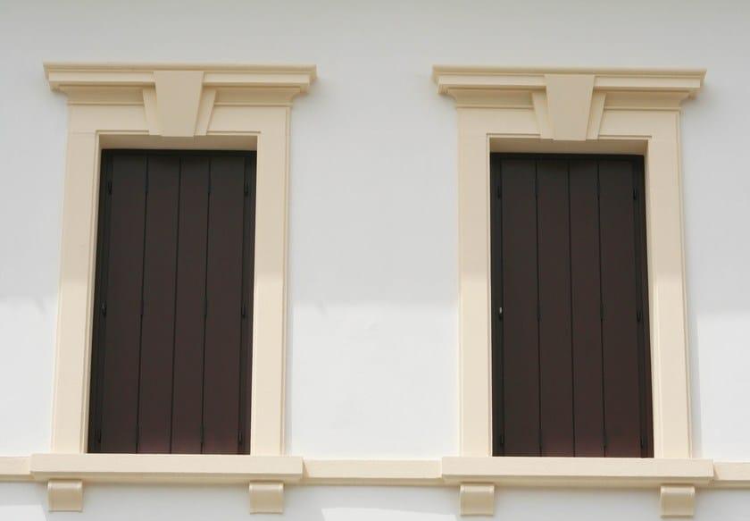 Cornici decorative in polistirolo eps per facciate for Cornici in polistirolo per quadri