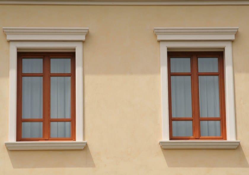 Cornici in polistirolo per finestre esterne