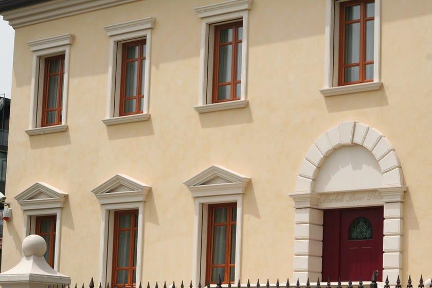 Cornici decorative in polistirolo eps per facciate cornici contorni per finestre eleni - Decori per finestre esterne ...