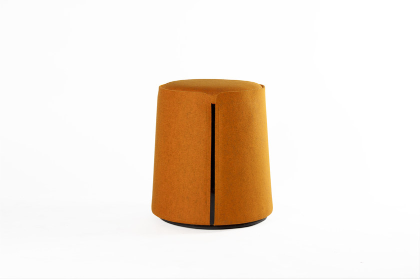 Fabric pouf CORUM - ROCHE BOBOIS