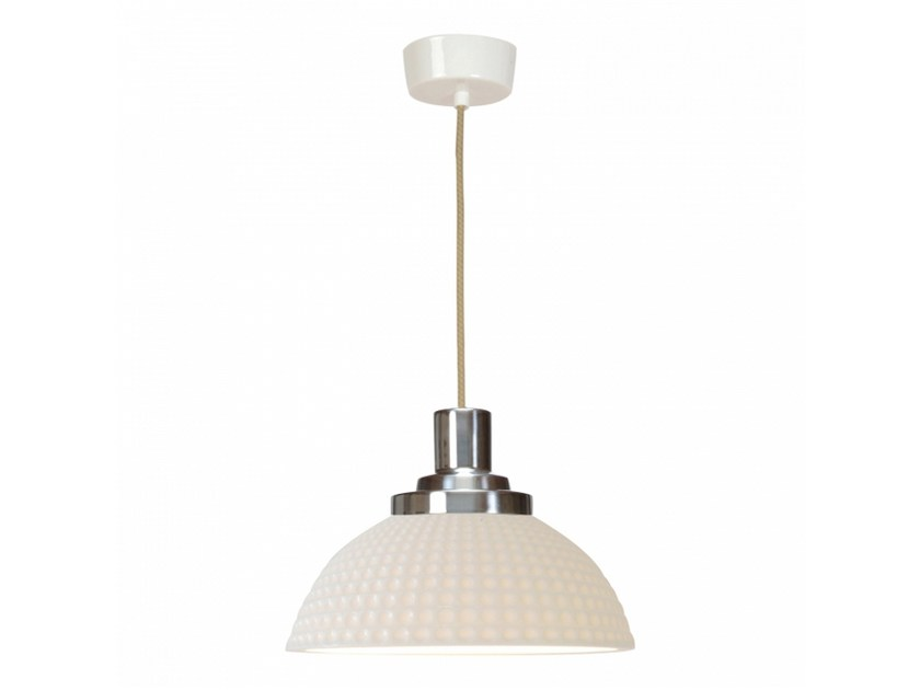 Porcelain pendant lamp with dimmer COSMO DIMPLE | Pendant lamp - Original BTC