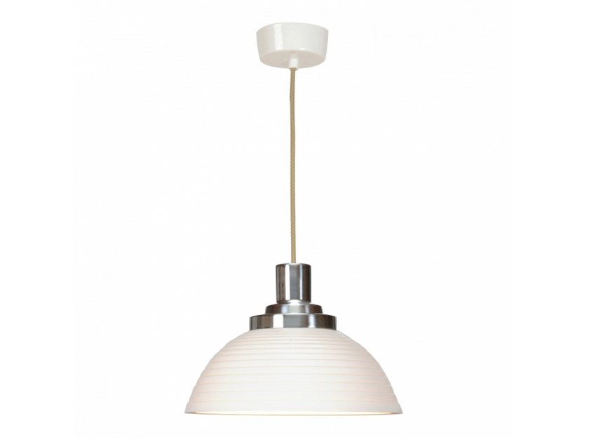 Porcelain pendant lamp with dimmer COSMO STEPPED | Pendant lamp by Original BTC