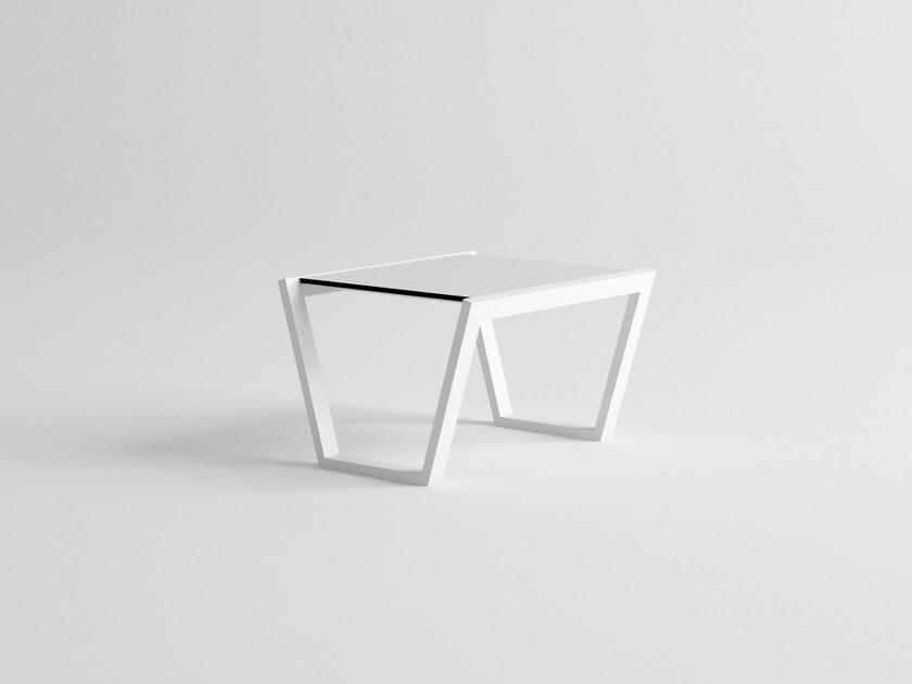 Aluminium side table COSTA | Side table - 10Deka