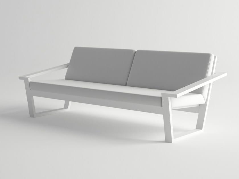 Aluminium garden sofa COSTA | Sofa - 10Deka