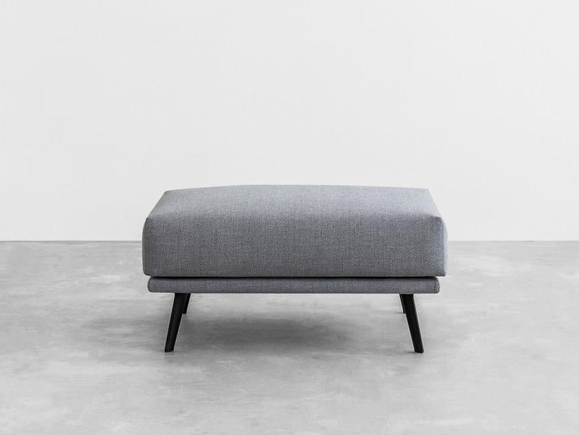 Fabric footstool COSTURA | Footstool - STUA