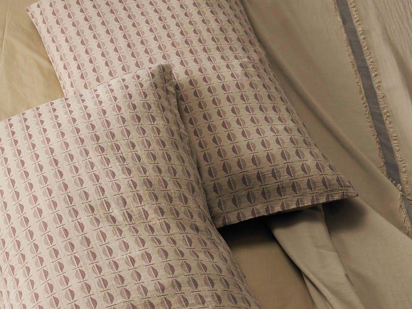 Federa con motivi grafici in cotone TOKI | Federa in cotone - Society Limonta