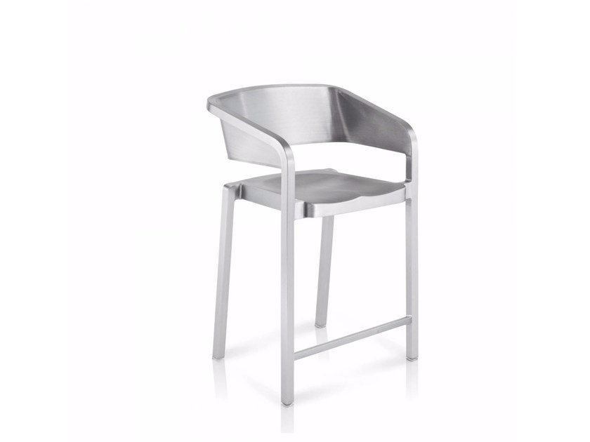 Stackable aluminium chair SOSO | Chair by Emeco