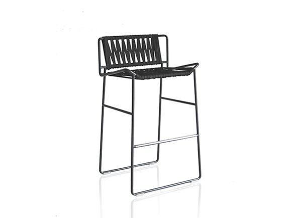 Polyester garden chair with footrest OUT_LINE | Chair by EXPORMIM