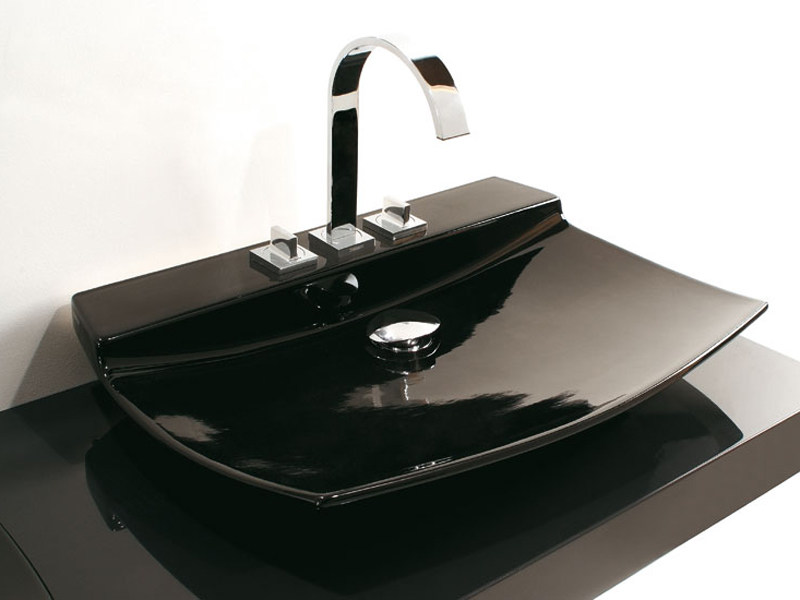 Countertop ceramic washbasin FLY   Countertop washbasin - GSG Ceramic Design