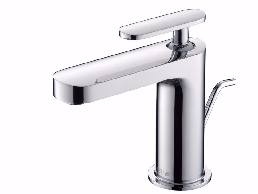 Countertop single handle chromed brass washbasin mixer CHARMING PLUS | Countertop washbasin mixer - JUSTIME