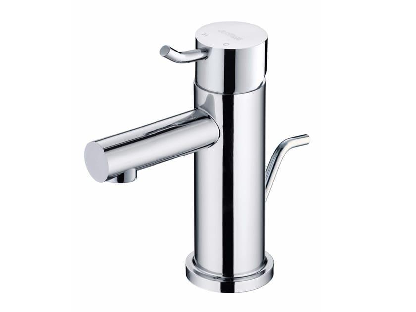 Countertop single handle chromed brass washbasin mixer SIMPLE | Countertop washbasin mixer by JUSTIME