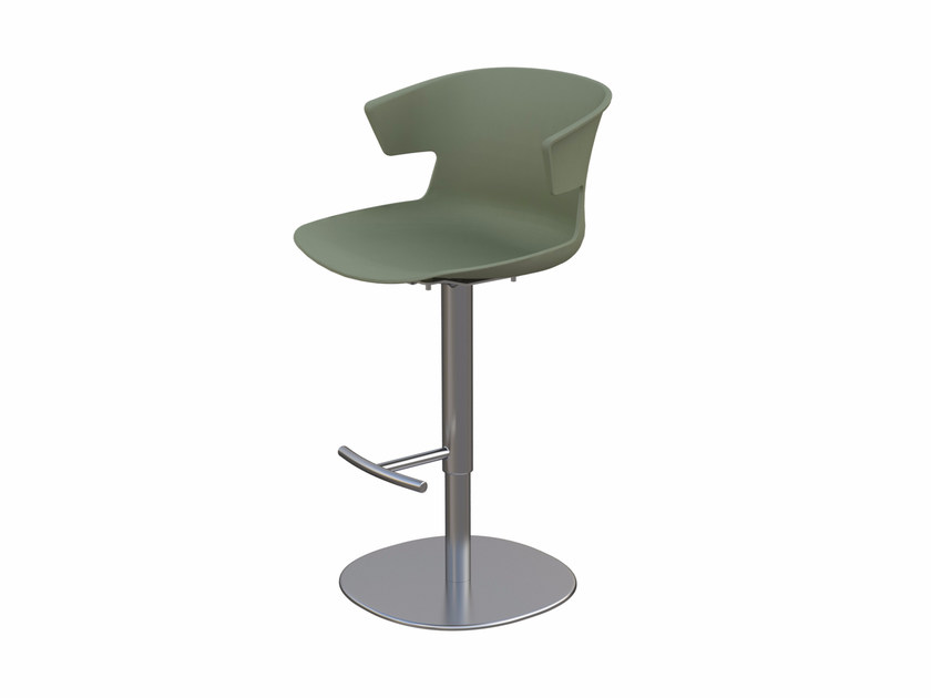 Polypropylene counter stool COVE | Counter stool - Quadrifoglio Sistemi d'Arredo
