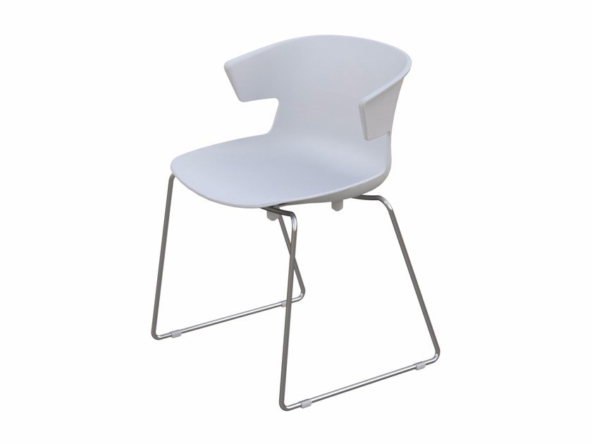 Polypropylene chair COVE | Sled base chair - Quadrifoglio Sistemi d'Arredo