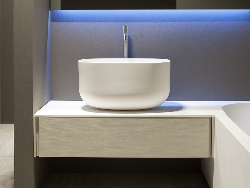 Countertop Corian® washbasin COVO - Antonio Lupi Design®