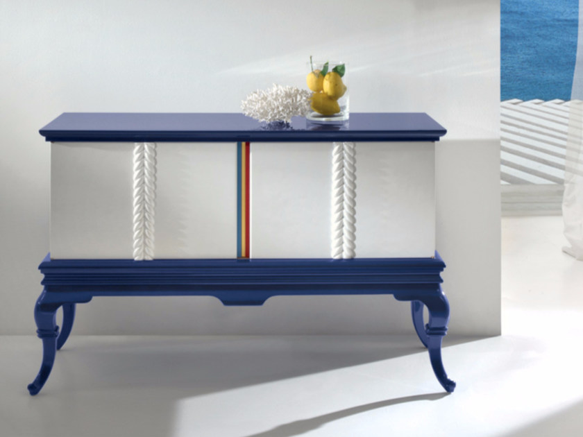 Lacquered sideboard with doors CP173 | Sideboard by Rozzoni
