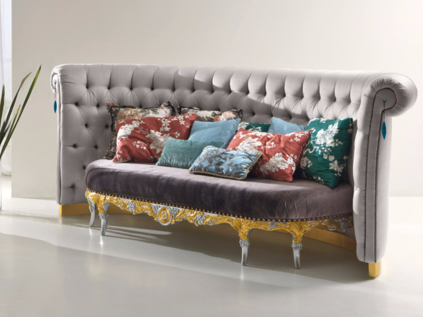 Tufted upholstered fabric sofa CP178 | Sofa - Rozzoni Mobili d'Arte