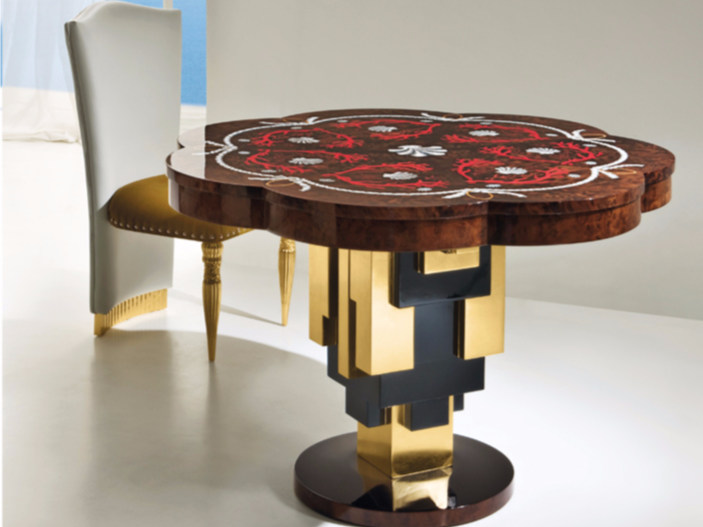 Wooden living room table CP182 | Table - Rozzoni Mobili d'Arte