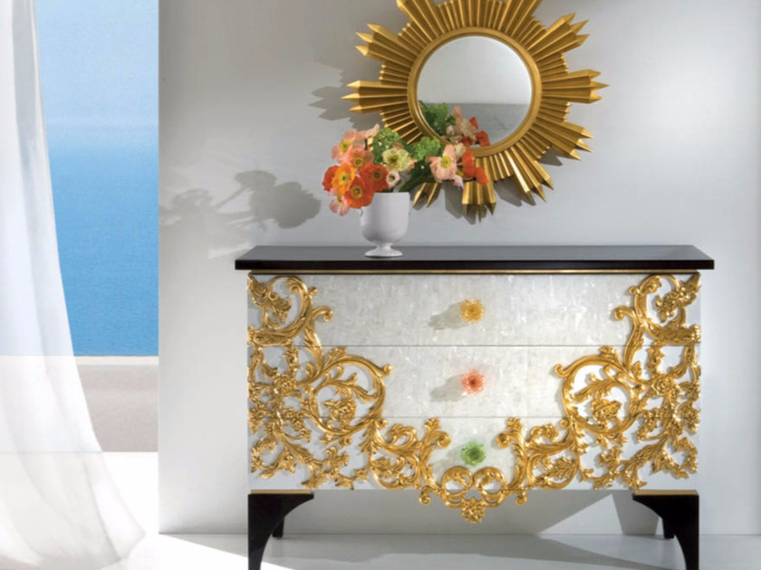 Mother of pearl dresser CP187 | Dresser - Rozzoni Mobili d'Arte