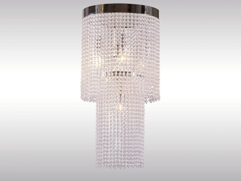 Classic style glass chandelier CR2 - Woka Lamps Vienna