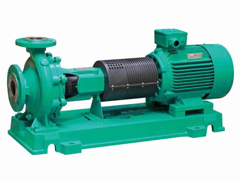 Pump and circulator CRONONORM NL - WILO Italia