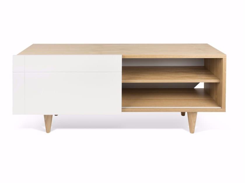 Wood veneer TV cabinet CRUZ | TV cabinet by TemaHome