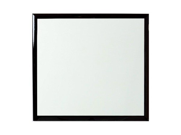 Wall-mounted framed bathroom mirror CRYSTAL | Mirror - Olympia Ceramica