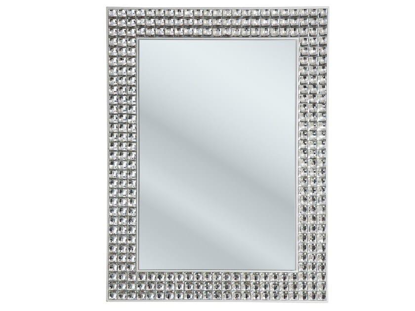 Wall-mounted mirror CRYSTALS | Wall-mounted mirror - KARE-DESIGN