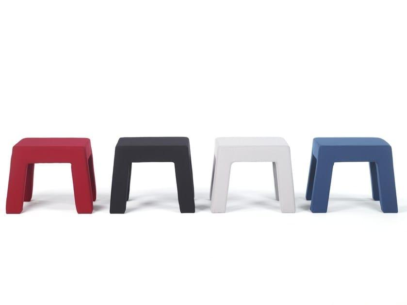 Low stool CUBIC | Stool - Moca