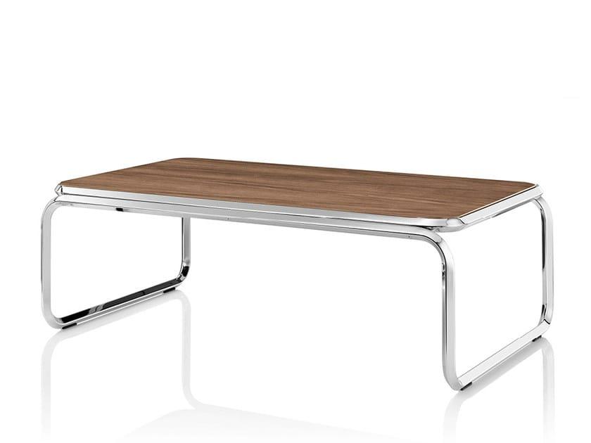 Rectangular wooden coffee table CUBA   Wooden coffee table - Boss Design