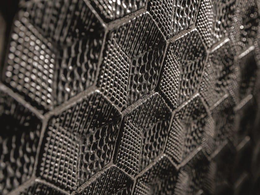 Ceramic mosaic CUBE By AREZIA