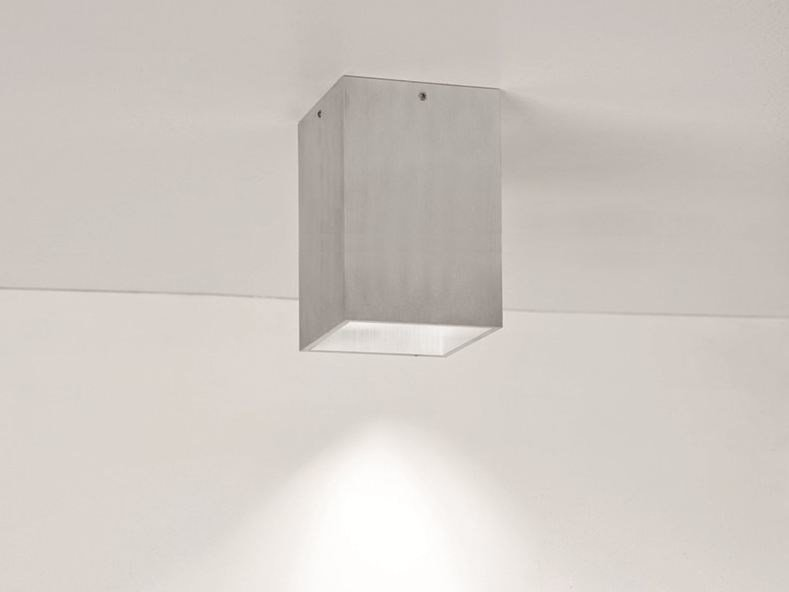 LED ceiling aluminium spotlight CUBE TR - BEL-LIGHTING