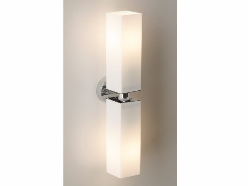 Glass wall light CUBE TWIN by Top Light
