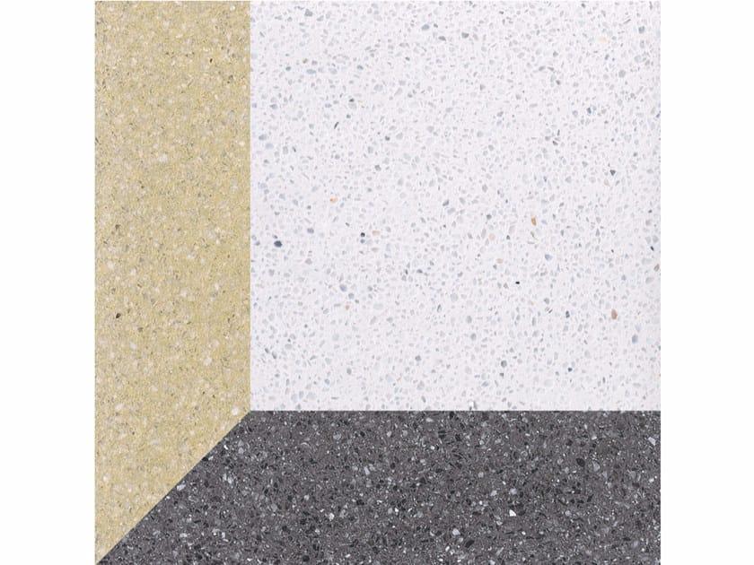 Marble grit wall/floor tiles CUBI L - Mipa
