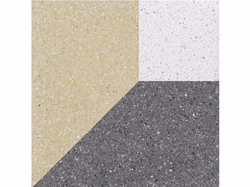 Marble grit wall/floor tiles CUBI M - Mipa