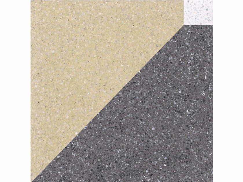 Marble grit wall/floor tiles CUBI S - Mipa