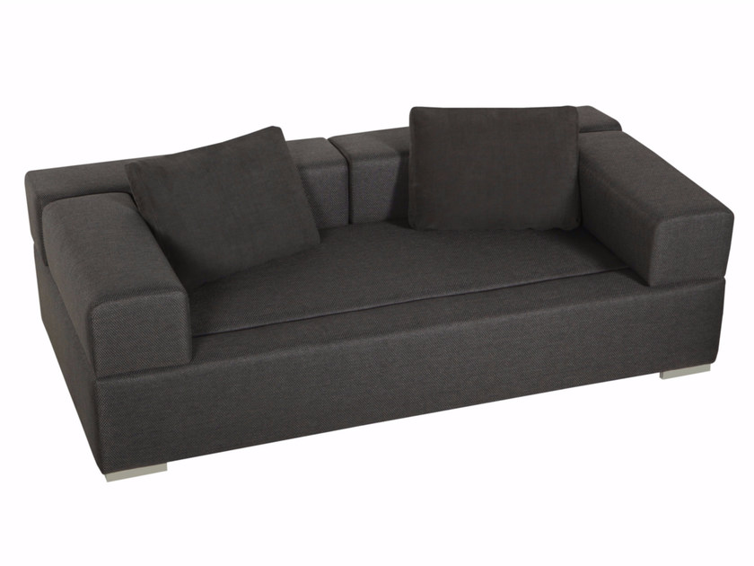 Upholstered 3 seater fabric sofa CUBIC | Sofa - SITS