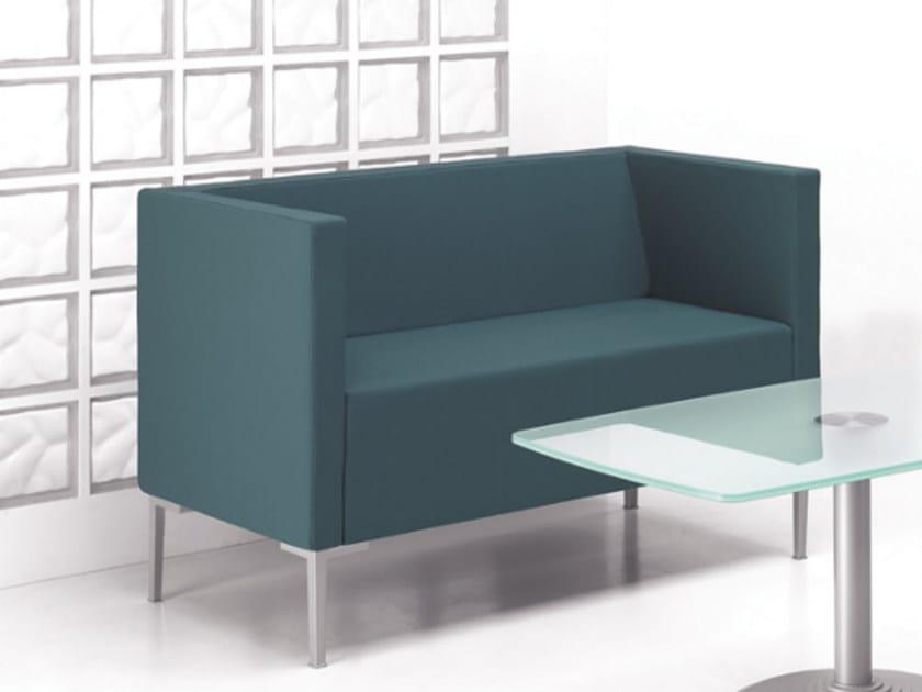 Fabric small sofa CUBIS 642 - TALIN